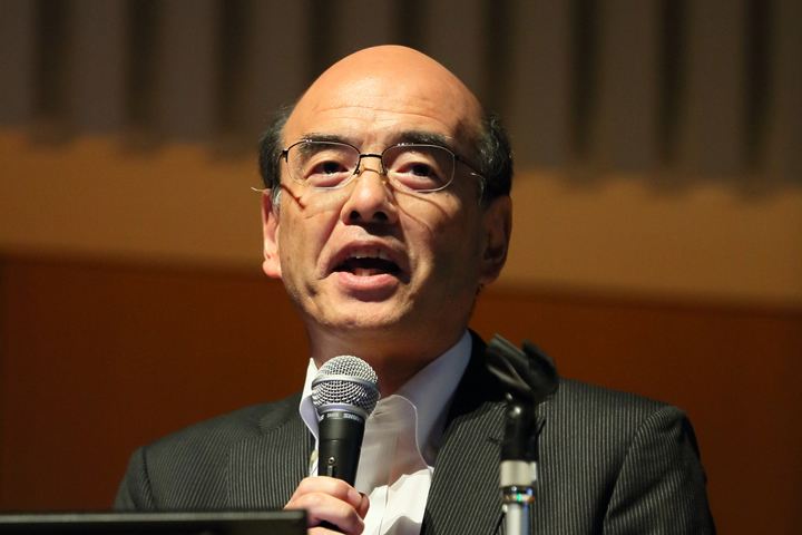 演者の赤澤宏平・新潟大学医歯学総合病院医療情報部教授