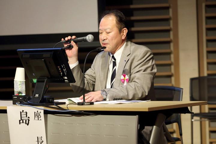 座長の島 弘志・一般社団法人日本病院会副会長
